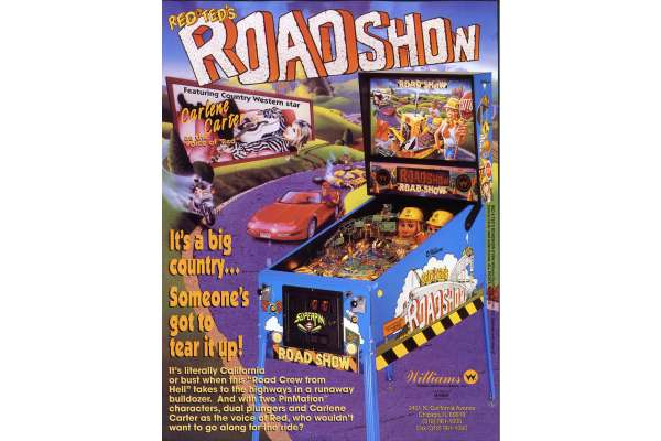 RED & TED'S ROAD SHOW 1994 sofel jeux