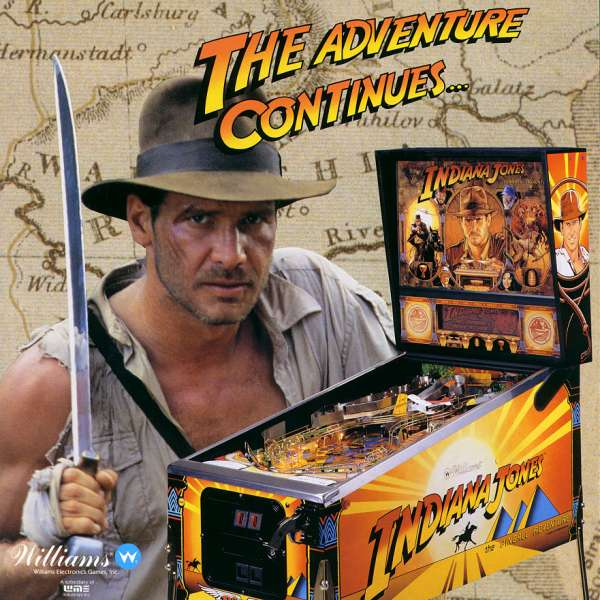 INDIANA JONES : The Pinball Adventure 1993