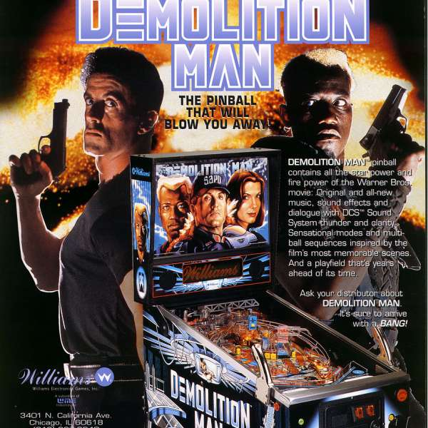 DEMOLITION MAN 1994